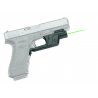 Crimson Trace Laserguard Green Laser Sight for Glock 17, 19, 22, 23, 34, 35