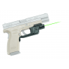 Crimson Trace Laserguard Green Laser Sight for Springfield Full Size XD / XDM