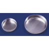 Eagle Thermoplastic Disposable Aluminum Smooth-Wall Weighing Dishes D70S-100