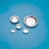 Eagle Thermoplastic Disposable Aluminum Weighing Dishes D63-100