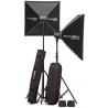 Elinchrom D-Lite RX ONE - 2x Head Portalite To Go Kit