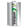 Energizer e Squared 2 Pack D Rechargeable NiMh Batteries NH50BP-2
