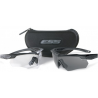 ESS Crossbow 2X Eyeshields Unit Issue w/ Black Frames