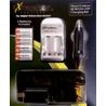 ExtremeBeam 3.0v CR123 Photo/Camera Charger Kit