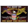 Flags Guns - Money & Freedom Flag