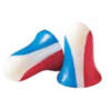 Howard Leight USA Shooters Red/White/Blue Earplugs