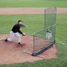 Jugs Sports 7-foot Quick-Snap L-Shaped Pitcher Screen S2000