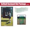 Jugs Sports Softball Backyard Net Package w/ Batting Cage