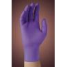 Kimberly Clark MICROGRIP PURPLE NITRILE Poly-Coated Powder-Free Gloves 40101-346
