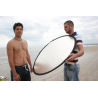 Lastolite 6inX4in Panelite Collapsible Reflector - Sunfire/White LL-LR7206