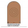 Law Enforcement Targets NRA D-1 Cardboard Bianchi Cup Tombstone 100 Per Case NRA-D-1CB