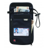 Lewis N Clark RFID Neck Stash Security Pouch - Black 1267BLK