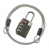 Lewis N Clark Travel Sentry Combo Lock with Cable