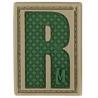 Maxpedition Letter PVC Morale Patch