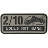 Maxpedition Would Not Bang PVC Morale Patch