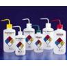 Nalge Nunc Right-To-Know Safety Wash Bottles, NALGENE 2425-0504 500 Ml Size, 28 Mm Closures