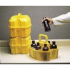 Nalge Nunc Safety Half-Liter Bottle Carriers, NALGENE 6505-0010 Carrier Safety Pint Bottle