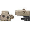 EOTech OPMOD EXPS2-0 HHS-II Holo Sight w/ 3x G33 Magnifier - 65 MOA ring/1MOA Dot Reticle, Tan