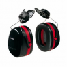 Peltor Optime 105 Black/Red Double Shell Earmuff