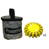 PowerFlare PF-200 Safety LED Light 2 Softpack w/ 2 Lights, Case, 2 Spare Batteries
