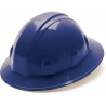 Pyramex Full Brim 4 Point Ratchet Suspension Hard Hat - Blue HP24160