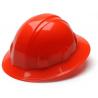 Pyramex Full Brim 4 Point Ratchet Suspension Hard Hat - Hi Vis Orange HP24141