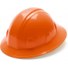 Pyramex Full Brim 4 Point Ratchet Suspension Hard Hat - Orange HP24140
