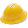 Pyramex Full Brim 4 Point Ratchet Suspension Hard Hat - Yellow HP24130