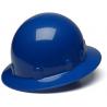 Pyramex Sleek Shell Full Brim 4 Point Ratchet Suspension Hard Hat - Blue HPS24160, Pack of 12