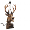 River's Edge 27in. Designer Deer Table Lamp w/ 40 Watt Bulb