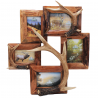 River's Edge Resin Picture Frame