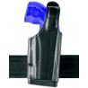 Safariland 520 EDW Holster with Thumb Break, Clip on Belt Loop, Adjustable Angle - Basket Black, Rig