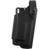 Safariland 6280 Level II Retention, Mid-Ride Holster - STX TAC Black, Right Hand 6280-5621-131