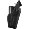 Safariland 6280 Level II Retention, Mid-Ride Holster - STX TAC Black, Right Hand 6280-74-131