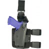 Safariland 6005 SLS Tactical Holster w/ Quick Release Leg Harness - STX FDE Brown, Right Hand 6005-73-551