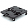 SKB Cases Shockmount Roto Caster Kit - Cart board for 20-inch SKB Shock Racks