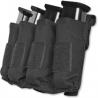 Tacprogear Quad Pistol Mag Pouch w/ Griptite