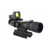 Trijicon ACOG 3x30 Scope, Dual Illuminated Amber Horseshoe/Dot .223 Ballistic Reticle, 4.0 MOA RMR Sight, and TA60 Mount with FREE Gerber Suspension Multi-Plier 1471