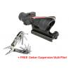Trijicon ACOG 4x32 Scope w/ Red Chevron BAC Flattop Reticle & Flat Top Adapter