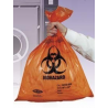 Tufpak Autoclavable Biohazard Bags, 2.0 mil 14220-066 Clear Bags