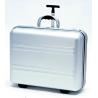 TZ Case DC50 Aluminum Silver Carry-On Size Wheeled Laptop Case