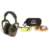 Walkers Alpha Muffs & Shooting Glasses Kit